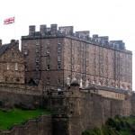 Edinburgh Castle, alljährlicher Veranstaltungsort für das Military Tattoo