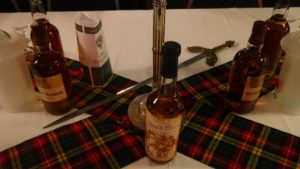 Insignien des Burns Supper der Clansmen
